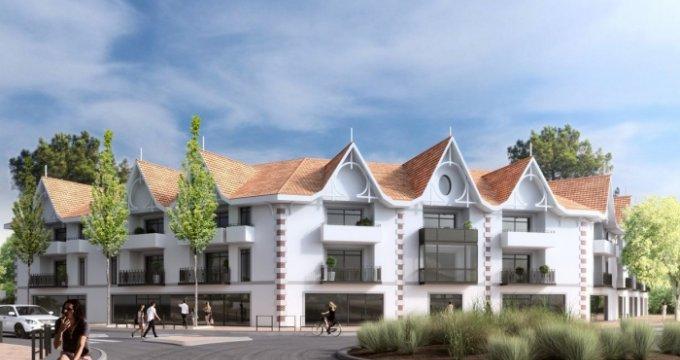 Achat / Vente immobilier neuf Andernos résidence de standing proche de la plage (33510) - Réf. 645