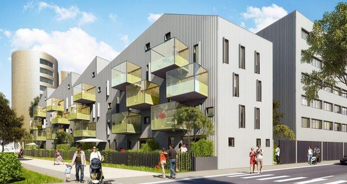 Achat / Vente immobilier neuf Bordeaux quartier des Bassins (33000) - Réf. 1496