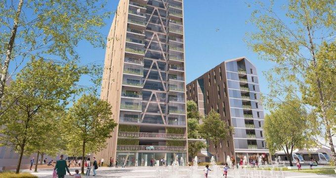 Achat / Vente immobilier neuf Bordeaux quartier Euratlantique centre (33000) - Réf. 3436