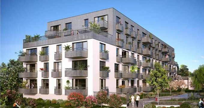 Achat / Vente immobilier neuf Cenon Bas entre la gare et les quais (33150) - Réf. 1589