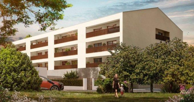 Achat / Vente immobilier neuf Cenon proche parc Frédéric Mistral (33150) - Réf. 2436