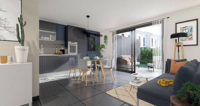Achat / Vente immobilier neuf Le Bouscat proche Hôpital Suburbain (33110) - Réf. 5224