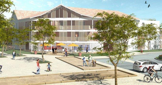 Achat / Vente immobilier neuf Le Teich, 500m de la Gare TER (33470) - Réf. 3825