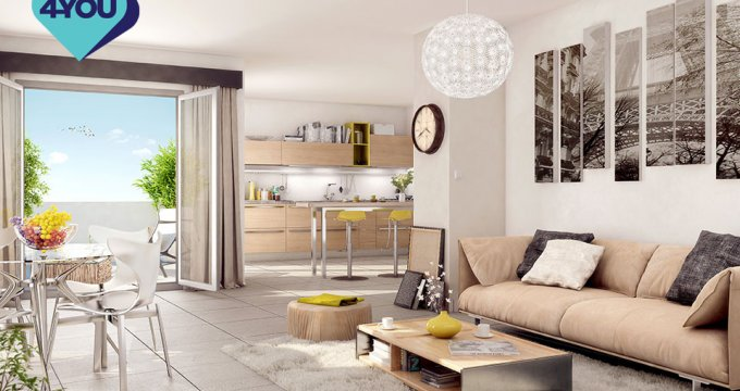 Achat / Vente immobilier neuf Lormont proche quartier vieux Lormont (33310) - Réf. 5132