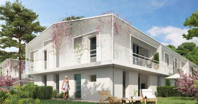 Achat / Vente immobilier neuf Mérignac proche arrêt de tram Frères Robinson (33700) - Réf. 2790
