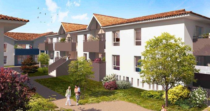 Achat / Vente immobilier neuf Mérignac quartier pavillonnaire proche bus (33700) - Réf. 338