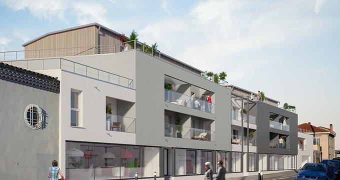 Achat / Vente immobilier neuf Mérignac quartier Saint-Augustin (33700) - Réf. 616