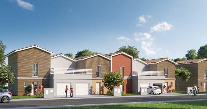 Achat / Vente immobilier neuf Saint-Aubin-de-Medoc parc de Villepreux (33160) - Réf. 2547