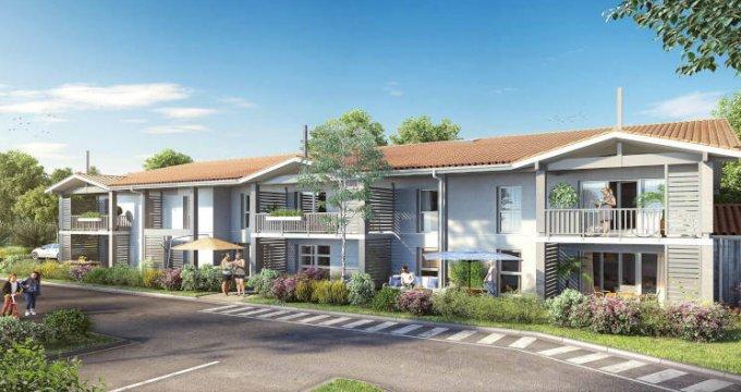 Achat / Vente immobilier neuf Saint-Jean-d'Illac proche Bordeaux (33127) - Réf. 2718