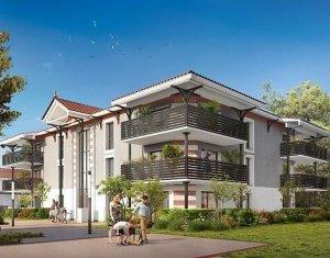 Achat / Vente immobilier neuf Audenge résidence dans un environnement boisé et paysagé, à seulement 8min des Plages (33980) - Réf. 1028