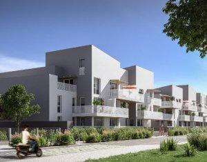 Achat / Vente immobilier neuf Bègles à 500 mètres de Bègles Plage (33130) - Réf. 3894