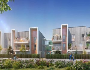 Achat / Vente immobilier neuf Bordeaux Caudéran 12min à pied du Parc Bordelais (33000) - Réf. 5627