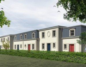 Achat / Vente immobilier neuf Le Bouscat centre-maison de ville style bourgeois (33110) - Réf. 2214