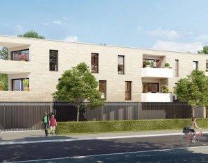 Achat / Vente immobilier neuf Mérignac Mondésir à 200m du Parc Bourran (33700) - Réf. 852