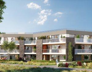 Achat / Vente immobilier neuf Pessac résidence de standing dans parc arboré proche tram Camponac (33600) - Réf. 1526