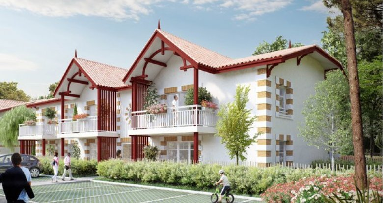 Achat / Vente immobilier neuf Andernos-les-Bains proche centre (33510) - Réf. 3786