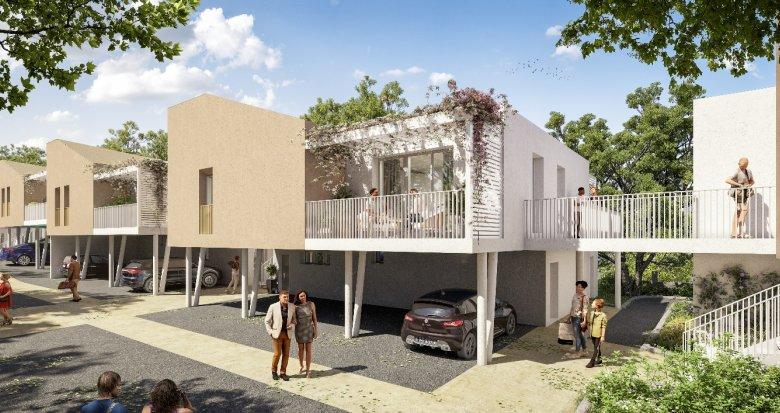Achat / Vente immobilier neuf Artigues-près-Bordeaux, au cœur du Parc Extérieur (33370) - Réf. 6056