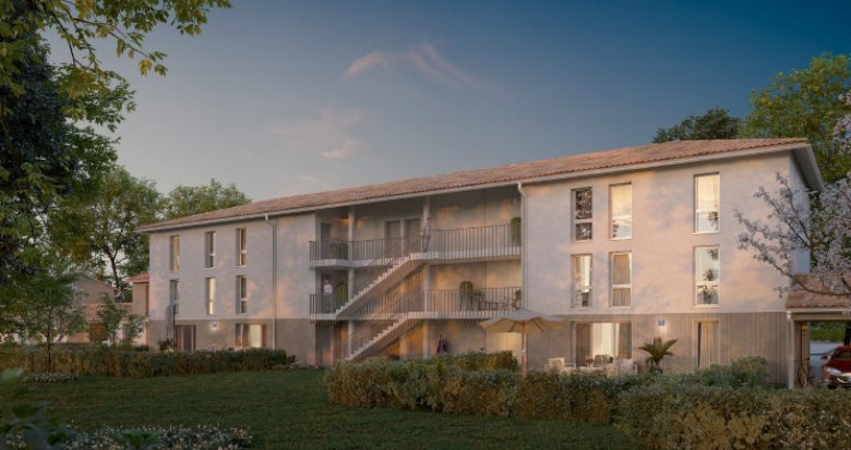 Achat / Vente immobilier neuf Belin-Béliet au coeur du Parc des Landes de Gascogne (33830) - Réf. 5181