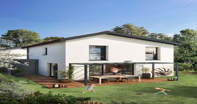 Achat / Vente immobilier neuf Blanquefort à 15 min à pied du vieux bourg (33290) - Réf. 5439