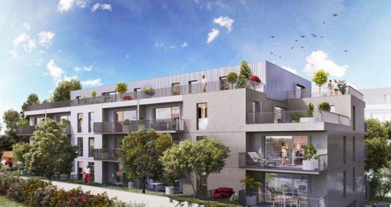 Achat / Vente immobilier neuf Bordeaux à 10 min du centre et de la gare (33000) - Réf. 5118