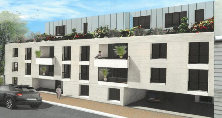 Achat / Vente immobilier neuf Bordeaux à 100 mètres de la Barrière Saint Genès (33000) - Réf. 5304