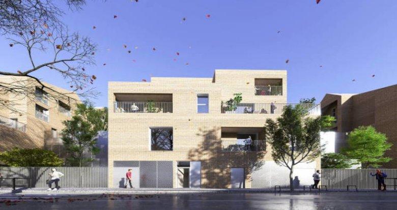 Achat / Vente immobilier neuf Bordeaux à 5 min à pied du tram Stalingrad (33000) - Réf. 5851