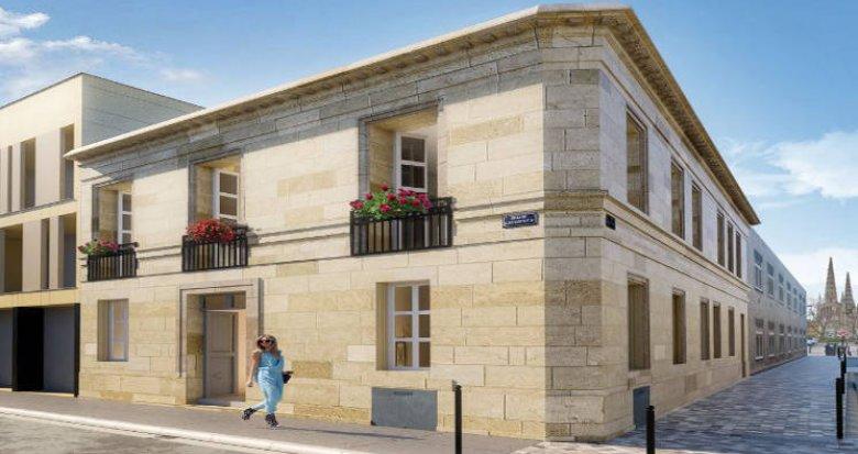 Achat / Vente immobilier neuf Bordeaux à 7 min à pied du centre (33000) - Réf. 4878