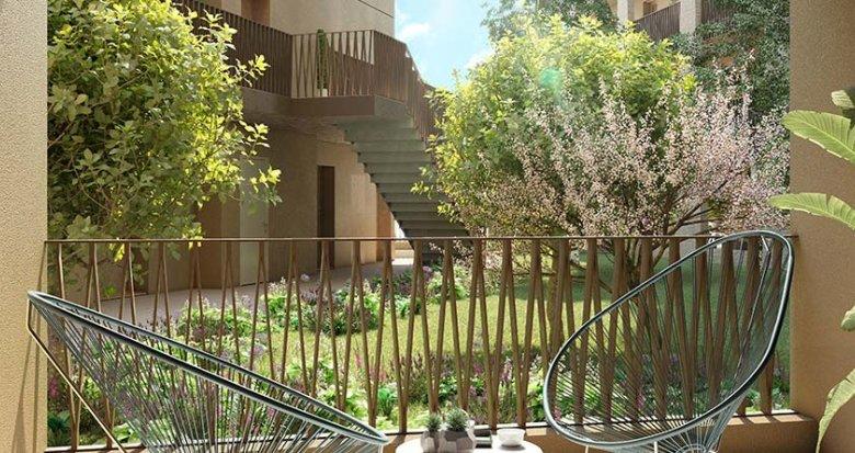 Achat / Vente immobilier neuf Bordeaux au cœur du Quartier Armagnac (33000) - Réf. 6053