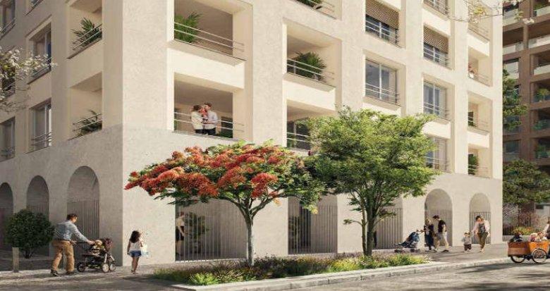 Achat / Vente immobilier neuf Bordeaux au cœur du quartier Armagnac (33000) - Réf. 4613