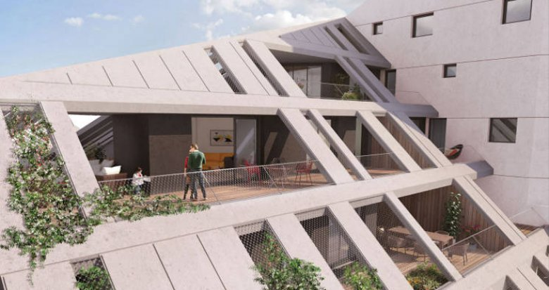 Achat / Vente immobilier neuf Bordeaux au cœur du quartier Bastide Niel (33000) - Réf. 4563