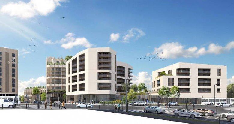 Achat / Vente immobilier neuf Bordeaux au cœur du quartier Euratlantique (33000) - Réf. 4335