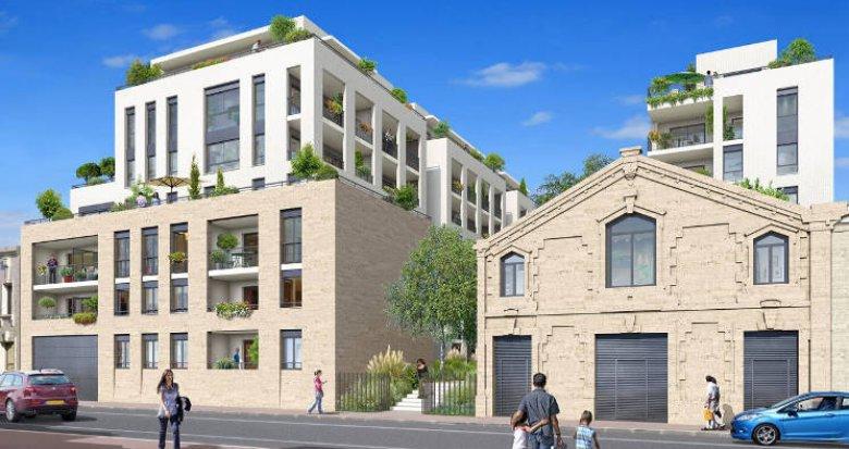 Achat / Vente immobilier neuf Bordeaux au pied de la Gare Saint Jean (33000) - Réf. 5152