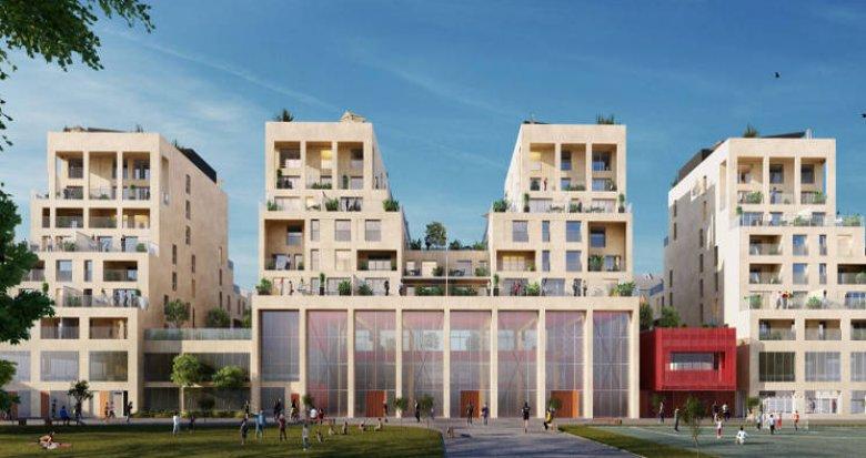 Achat / Vente immobilier neuf Bordeaux Bastide, face à la future plaine des Sports (33000) - Réf. 5200
