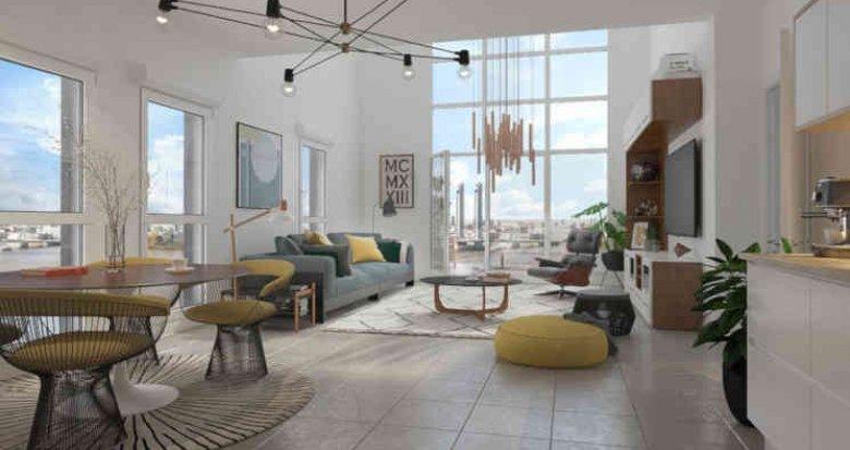 Achat / Vente immobilier neuf Bordeaux Brazza (33000) - Réf. 4321