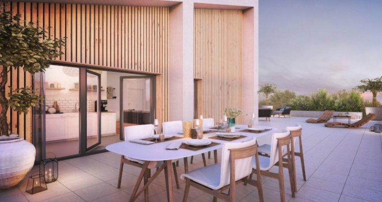 Achat / Vente immobilier neuf Bordeaux Brazza au pied de la future Brazzaligne (33000) - Réf. 5055