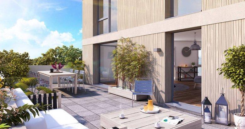 Achat / Vente immobilier neuf Bordeaux Caudéran secteur Bel Air (33000) - Réf. 6072