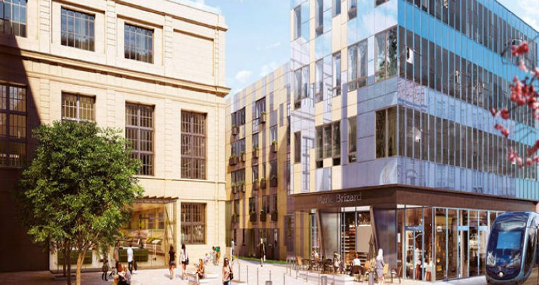 Achat / Vente immobilier neuf Bordeaux centre, entre Palais Gallien et Jardin Publique (33000) - Réf. 5294