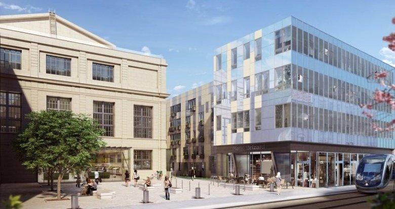 Achat / Vente immobilier neuf Bordeaux centre-ville – Triangle d'or (33000) - Réf. 555