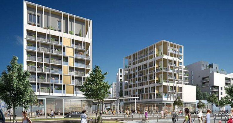 Achat / Vente immobilier neuf Bordeaux éco-quartier Ginko (33000) - Réf. 2466