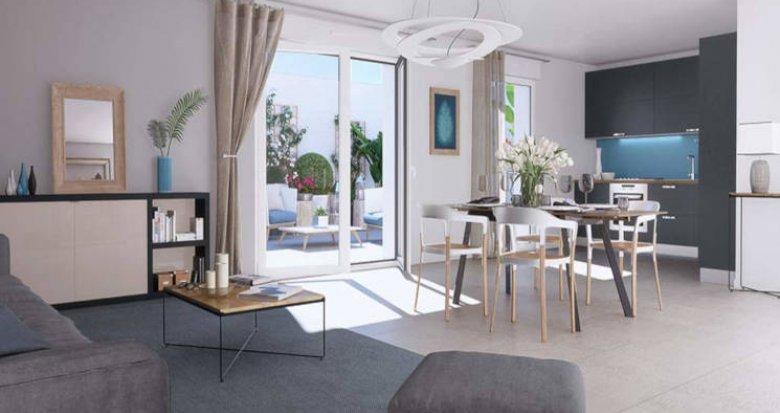 Achat / Vente immobilier neuf Bordeaux écoquartier Ginko (33000) - Réf. 3019