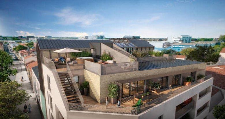 Achat / Vente immobilier neuf Bordeaux proche cité du vin des Bassins à Flot (33000) - Réf. 6010
