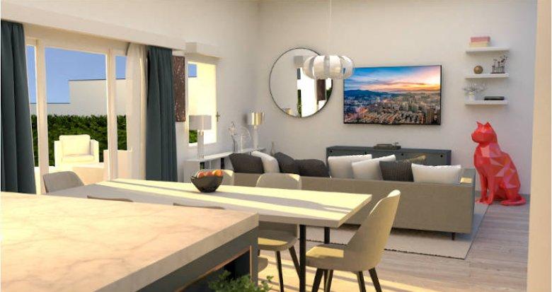Achat / Vente immobilier neuf Bordeaux, proche Gare de Caudéran (33000) - Réf. 5207