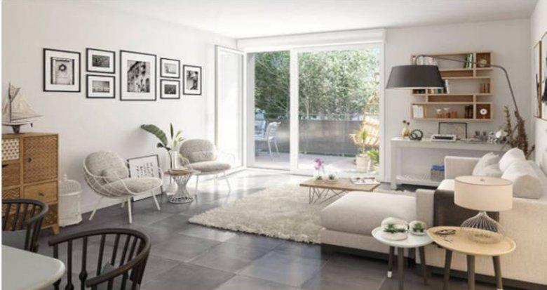 Achat / Vente immobilier neuf Bordeaux proche quartier Le Lac (33000) - Réf. 2744