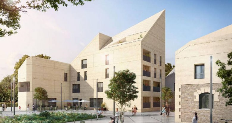 Achat / Vente immobilier neuf Bordeaux quartier Bastide Niel (33000) - Réf. 4804