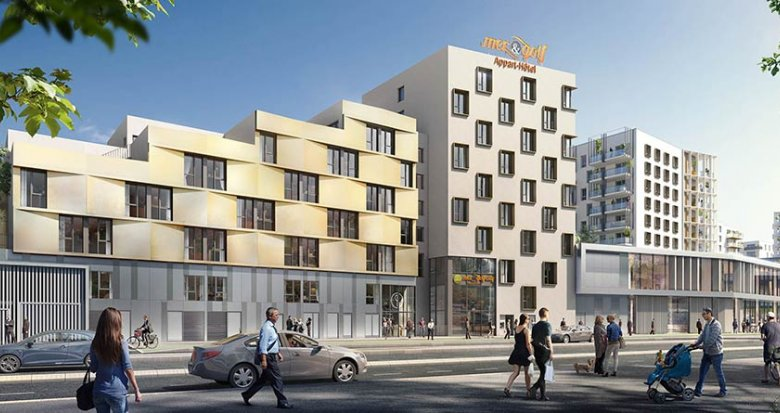 Achat / Vente immobilier neuf Bordeaux quartier Ginko (33000) - Réf. 1858