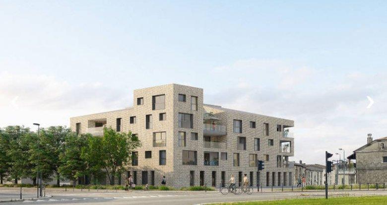 Achat / Vente immobilier neuf Bordeaux, résidence intimiste au coeur de la Bastide (33000) - Réf. 5005