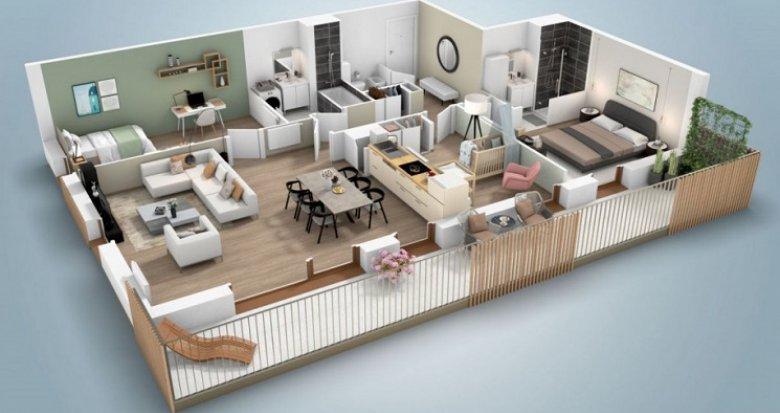 Achat / Vente immobilier neuf Bruges proche place Ravezies (33520) - Réf. 5890
