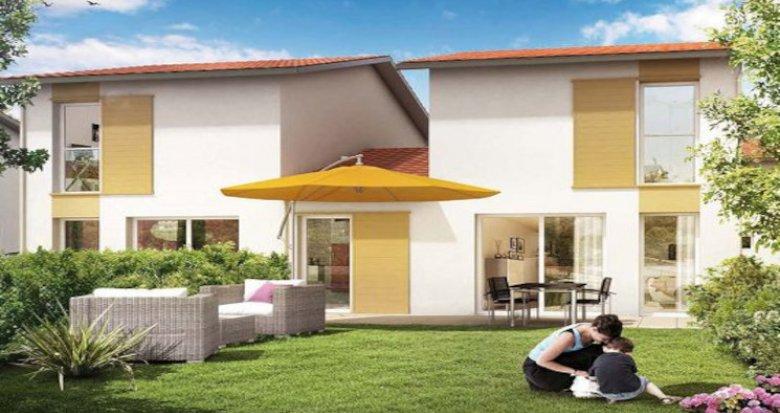 Achat / Vente immobilier neuf Cambes à deux pas de La Garonne (33880) - Réf. 5760