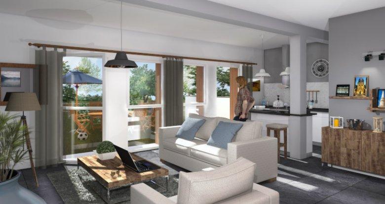 Achat / Vente immobilier neuf Gradignan proche du Bois de Cotor (33170) - Réf. 5564