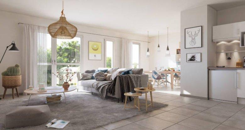 Achat / Vente immobilier neuf La Teste de Buch, à 15 min à pied du centre ville (33260) - Réf. 5810
